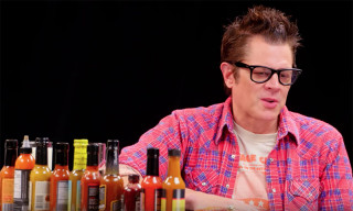 Watch Johnny Knoxville Struggle to Eat Spicy Wings on 'Hot Ones'