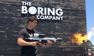 Elon Musk's Boring Company Flamethrowers Have Arrived