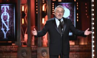 Robert De Niro Said F*ck Trump at the Tony Awards