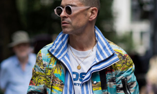 Snakeskin & Bold Prints Were All the Rage at London Fashion Week Men's SS19