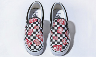 """Here's How to Cop BILLY'S' Vans """"Off The Wall Check"""" Slip-On"""