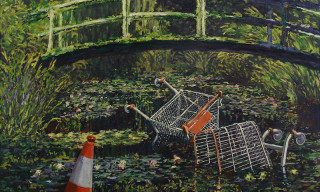 Banksy's Rare & Most Popular Artwork to Be Displayed in London Exhibition