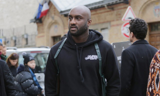 Virgil Abloh Fronts 'GRIND' Magazine in OFF-WHITE & Louis Vuitton Heat