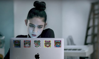 "Apple Taps Grimes for New ""Behind the Mac"" Ads About Creatives"