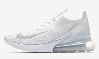 "Nike Gives the Air Max 270 Flyknit a ""Triple White"" Makeover"