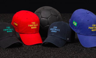 "'47 Celebrates World Cup Fever with ""The Football Gods"" Headwear"