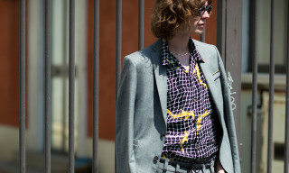 Bold Shirt Prints and Loud Sunglasses Dominate SS19 Milan Street Style