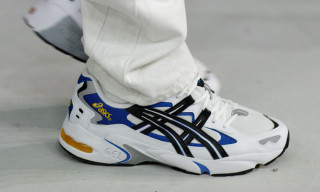 An Old-School ASICS GEL-Kayano Appeared on the GmbH Catwalk at PFW