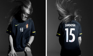 NikeLab & Edison Chen's CLOT Collaborate on a Slick Soccer Jersey
