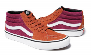 Supreme x Vans Bring the Corduroy Heat for Spring 2018