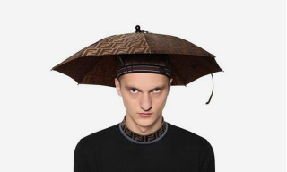Win Every Fashion Week with this Fendi Headband Umbrella