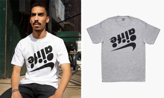 "ALIFE Plays With Swoosh Branding on ""Full Sail"" Tee & Hoodie"