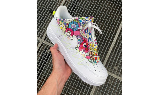 Takashi Murakami Flexes Colorful Custom Nike Air Force 1s at PFW