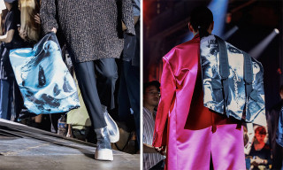 Raf Simons Debuts Graphic Eastpak Bags