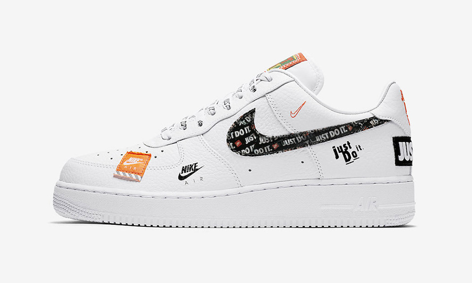 """Here s How to Cop Nike s """"Just Do It"""" Air Force 1 eeaaafa2ad3e"""