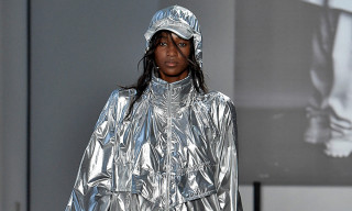Juun.J Presents A Silver Sportswear Silhouette for SS19