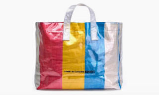 COMME des GARÇONS SHIRT's Colored Plastic Bag Is the Perfect Summer Tote