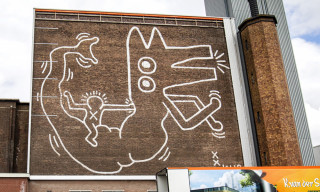 32-Year-Old Keith Haring Mural Unveiled in Amsterdam