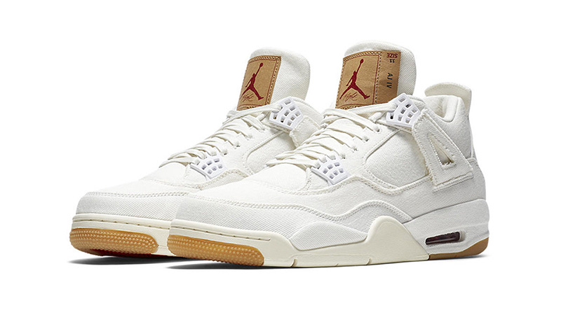 af6992d87c66 ... wholesale levis x nike air jordan 4 white release date price more info  52a74 62477