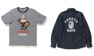 BAPE Sails Into Summer With 'Popeye' Capsule Collection