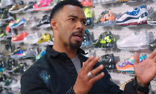 'Power's Omari Hardwick Cops YEEZYs & OFF-WHITE Nikes on 'Sneaker Shopping'