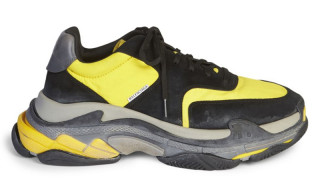 Balenciaga's Triple S Surfaces in New Black & Yellow Colorway