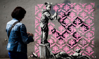New Banksy Murals in Paris Take Aim at French Government