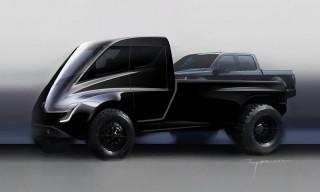 Elon Musk Teases Tesla's Long-Awaited Pickup Truck