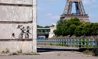 Banksy Debuts New Rat Murals in Paris