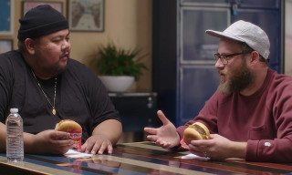 Watch Seth Rogen Taste-Test Off-Menu Burgers to Find the GOAT
