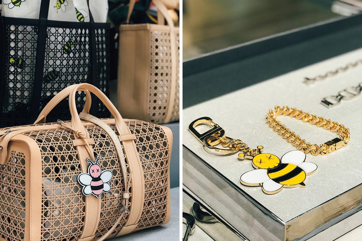 Dior X Kaws Ss19 Best Accessories From Paris Showroom