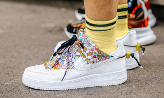 Paris Fashion Week Was Burning With Sneaker Heat