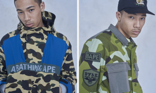 BAPE's FW18 Lineup Includes Military Influences & BAPESTAS