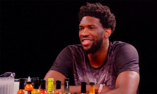 Joel Embiid Talks Drake Having the Album of the Summer on 'Hot Ones'