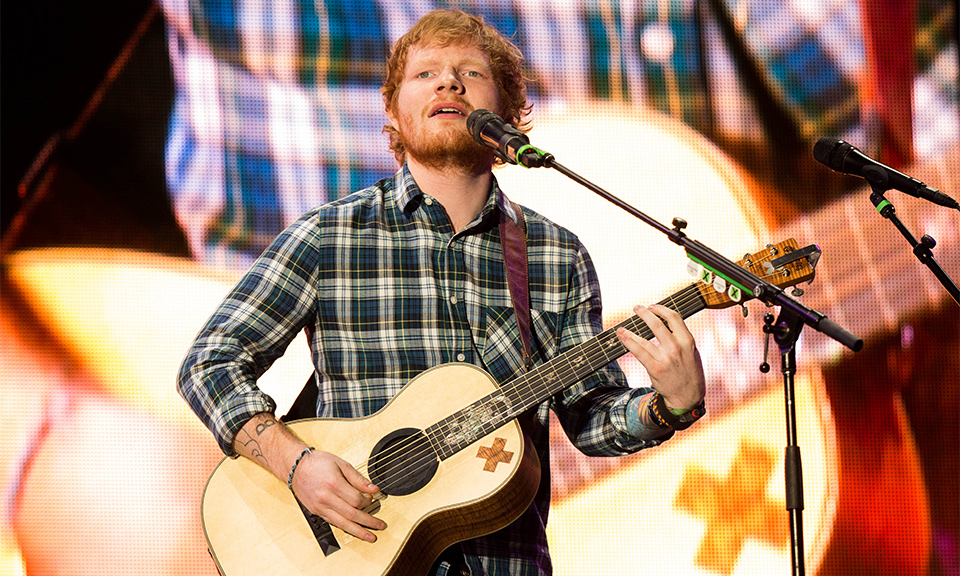 """Ed Sheeran Sued for $100 Million for Allegedly Copying Marvin Gaye's """"Let's Get It On"""""""