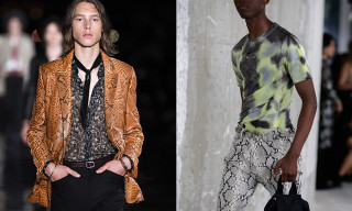Here's 6 Times Snakeskin Was Trending at Fashion Week