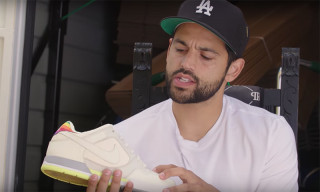 Paul Rodriguez Shows Off Michael Jordan-Signed Nikes & Other Rare Sneakers