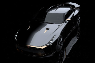"""Nissan's GT-R50 by Italdesign is a Car """"Without Limits"""""""