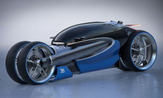 This Bugatti Motorbike Concept Is Straight From the Future