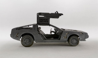 Daniel Arsham Teases Eroded DeLorean Ahead of Upcoming Exhibition