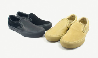 Vans Vault x Engineered Garments Return With More Mismatched Slip-On Colorways