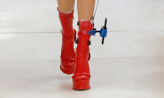 Maison Margiela Models Had iPhones Attached to Their Ankles