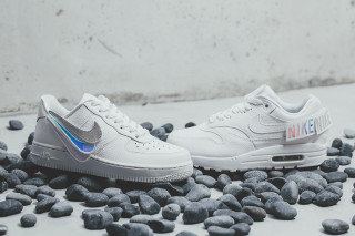 4090b07abc09 Nike s Air Force 1   Air Max 1 Arrive With Removable Branding Patches