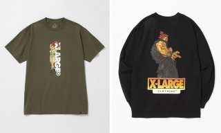 XLARGE Debuts 'Street Fighter Alpha' Graphic Capsule