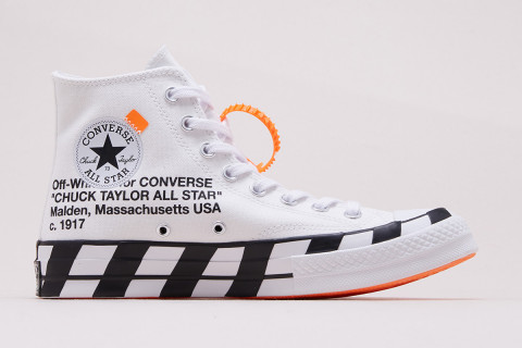 1d1f23a746b638 Chuck Taylor. OFF-WHITE s heavily branded Chuck Taylor 70 ...