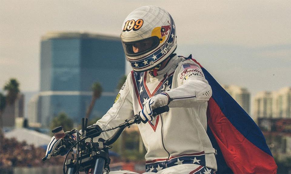 Evel Knievel Harley Auction: Travis Pastrana Honors Evel Knievel By Jumping Caesars Palace