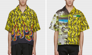 These New Prada Shirts Are Literally Flames