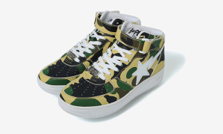 A BATHING APE's Mid-Top BAPE STA Drops Today in Two New Colorways