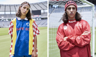 Bape's Football Capsule Lands Just in Time for the World Cup Final