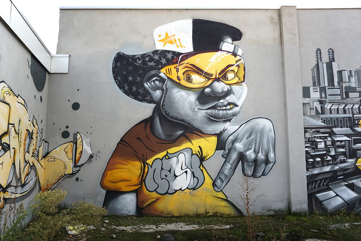 Learn Graffiti Letters - iBuzzle